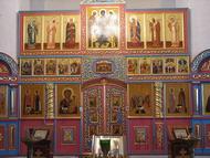 Иконостас Храм Воскресение Христова, Волоколамск