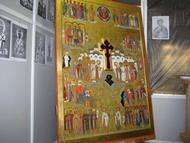 Икона 75 святых храма Знамения иконы Б.М.в Кунцево