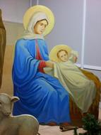 Божия Матерь с младенцем