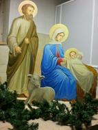 Фигуры рождественского вертепа