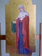 Пресвятая Богородица (Благовещание, фрагмент)