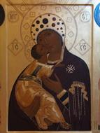 Икона Волоколамской Божией Матери