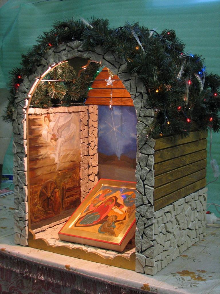 Православие поделки рождество