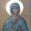 Dimensional icon: St. Great-martyr Anastasia Uzoreshitelnitsa.