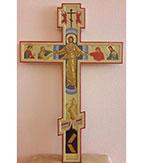 Крест выносной на хоругвиь
